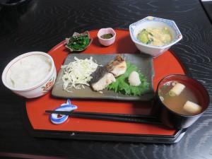 五月漢方茶話会の食事